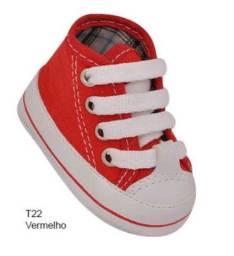 Sapatinhos Para Bebe Menino Novo Nenem Gestante Sapato Recem Nascido