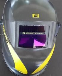 Máscara de Solda Automática ESAB - Mascara New Tech - 9 a 13 (Produto Novo)