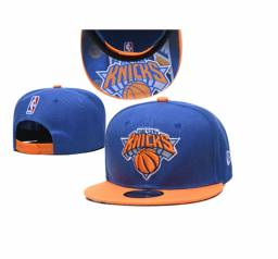 Boné New York Knicks Nba Nfl Aba Reta Trucker Baseball Cap