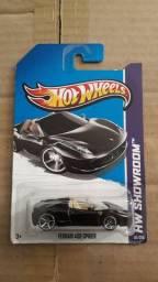 Carrinho Miniatura Hot Wheels Ferrari 458 Spider