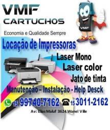 Locação de Impressora por menos de R$0,05 a Folha
