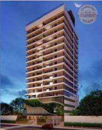 Apartamento com 2 dormitórios à venda, 83 m² R$ 442.000,00 -Canto do Forte, Praia Grande