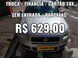 Siena 1.0 , Sem Entrada + Parcelas R$ 629,00