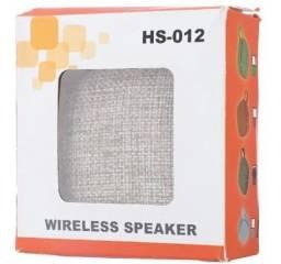 Caixa de Som Portátil Bluetooth HS 012