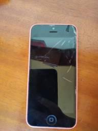 iPhone 5c tela trincada