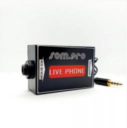 Placa de som para celular Live Phone - Somos Loja