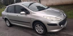 Peugeot 307 sed 1.6 pres. 2007 completo leia o anúncio