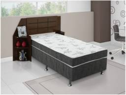 Vendas: Cama Box Solteiro Conjugado 88x188cm - Ortobom Physical