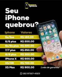 Display iPhone 5s/6/7/8/X/11/12