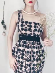 Título do anúncio: Vestido Rosa Skull