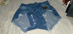 vendo shorts novo 36
