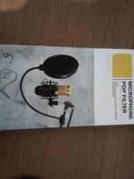 Título do anúncio: Pop filter Para microfone