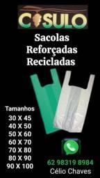 Título do anúncio: Sacolas Reciclaveis e Reforçadas