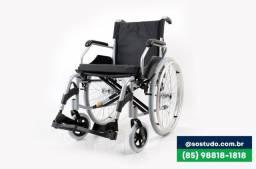 Título do anúncio: Cadeira de rodas D 600  (85)9. * SUP 120KG