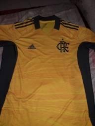 Camisa do Flamengo amarelo