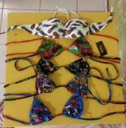 Roupas de banho e conjunto(sutiã, calcinha)