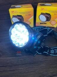 Título do anúncio: Lanterna de cabeço, led , Bateria recarregável