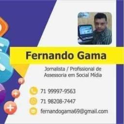 Fernando Gama Marketing Digital jornalista comunicador
