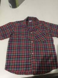 Vendo camisa xadrez TAM 8