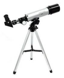 Telescópio Refrator 90x Lente Óptica It-blue Terra E Céu