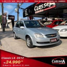 Título do anúncio: CLASSIC LS VHC Flex 1.0 2012