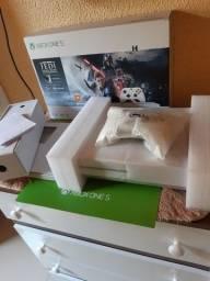 Xbox One s 4k com HDR 1tb zerado com garantia