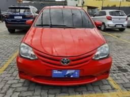 Toyota Etios HB X 1.3 com GNV Ano 2015  Entrada + parcelas de R$665,00.