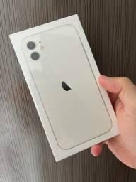 iPhone 11 64 branco Lacrado até 12x