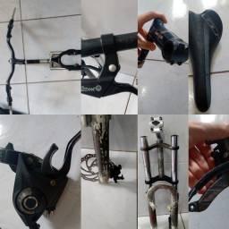 Vendo peças de bike