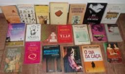 Livros diversos (ver títulos na descrição) 1 livro $18 / 2 livros $30 / 3 livros $40