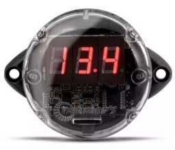Título do anúncio: voltimetro taramps voltagem medidor bateria 12v som automotivo