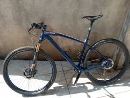 MTB Caloi Elite Carbon Team XTR tamanho 19