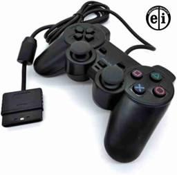Título do anúncio: Controle Joystick Com Fio Playstation 2 - Entrega Grátis