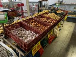 Vendo duas bancas de frutas verduras e legumes