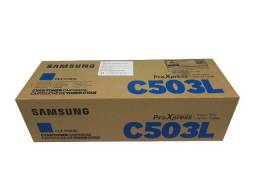 Toner Samsung CLT - C503L Cyan Original Novo