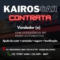 Consultor de vendas automotivo.