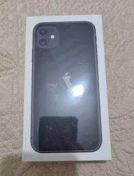 Título do anúncio: Iphone 11 64gb preto, lacrado, apenas venda!