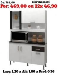 Armario de Cozinha - kit de Cozinha Medio - Liquida em Cascavel