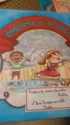 Livro Enquanto eu cresço