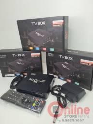 TV BOX ATUALIZADO MXQ PRO 4K 5G<br>