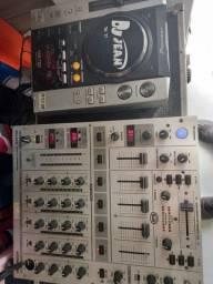 Título do anúncio: CDJ PIONEER 200 + UM MIX BEHRINGER DJX700