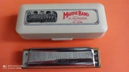 Gaita Hohner Marine Band - Modelo 1896 Classic - D (Ré)