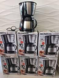 Cafeteira Mondial Dolce Arome Thermo, Jarra em Inox, 24 xícaras , Nova , 127 volts