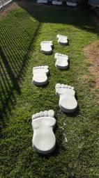 pisantes para jardim.