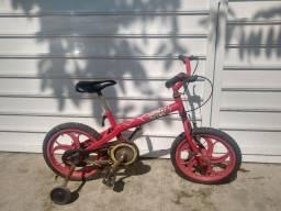 Título do anúncio: Bicicleta Vermelha Infantil