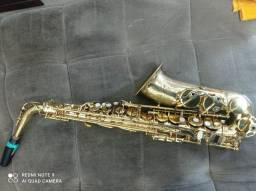 Sax alto sem boquilha leia!!
