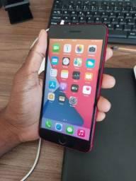 Título do anúncio: Iphone 8 plus vermelho bateria 99% !!