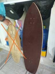 Título do anúncio: Shape Skate longboard simulador de Surf.
