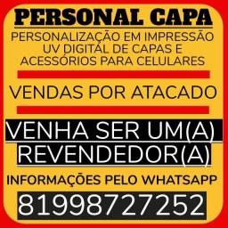 Título do anúncio: PERSONAL CAPA - VENDA POR ATACADO