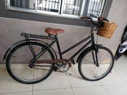 Título do anúncio: Bicicleta feminina retro